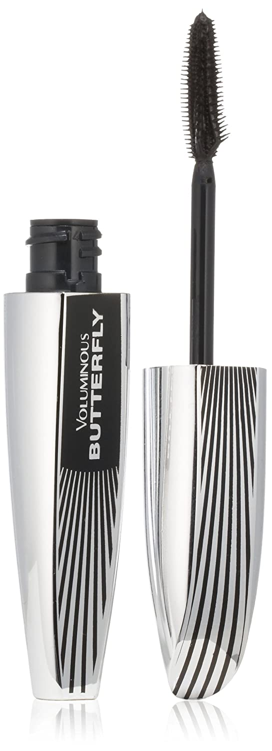 L'Oréal Paris Voluminous Butterfly Lengthening Washable Mascara, Black Brown, 0.22 fl. oz.