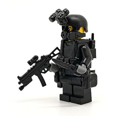 Modern Brick Warfare Special Forces Soldier Flint Custom Minifigure: Toys & Games