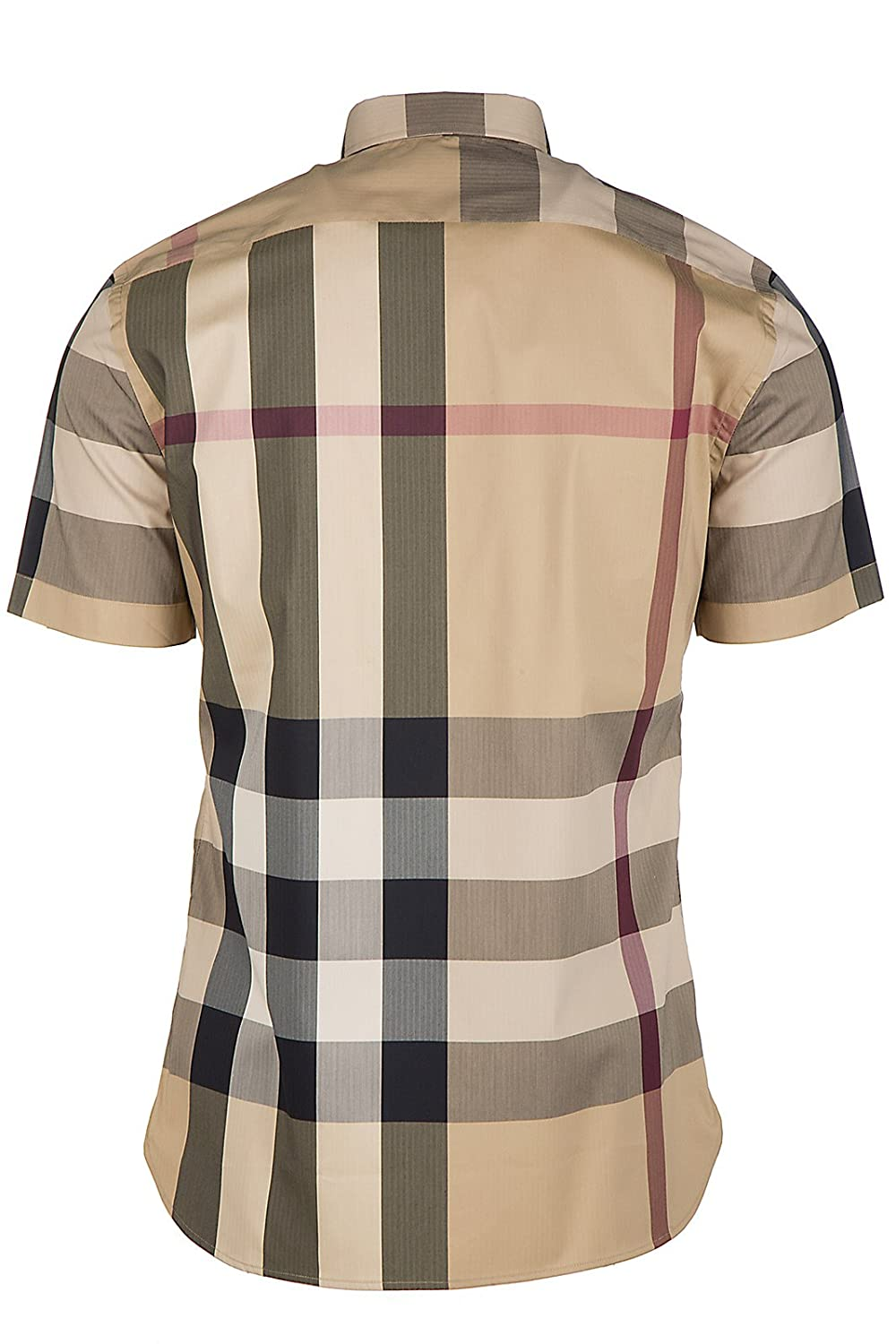 BURBERRY Men s Short Sleeve Shirt t-Shirt thornaby Beige US Size S (US S)  4045837 at Amazon Men s Clothing store  7f7462ad872