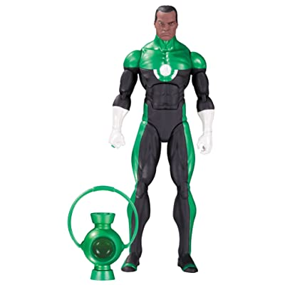 DC Collectibles Comics Icons: Green Lantern John Stewart: Mosaic Action Figure: Toys & Games
