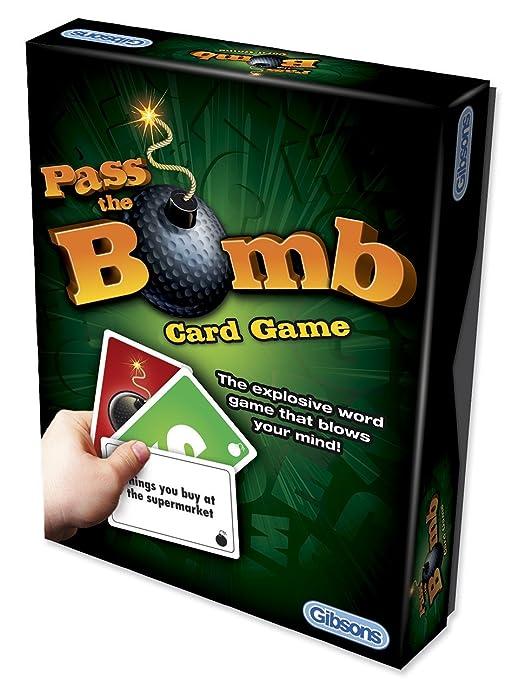"2 opinioni per Gibsons- Gioco di carte ""Pass the Bomb"" [lingua inglese]"