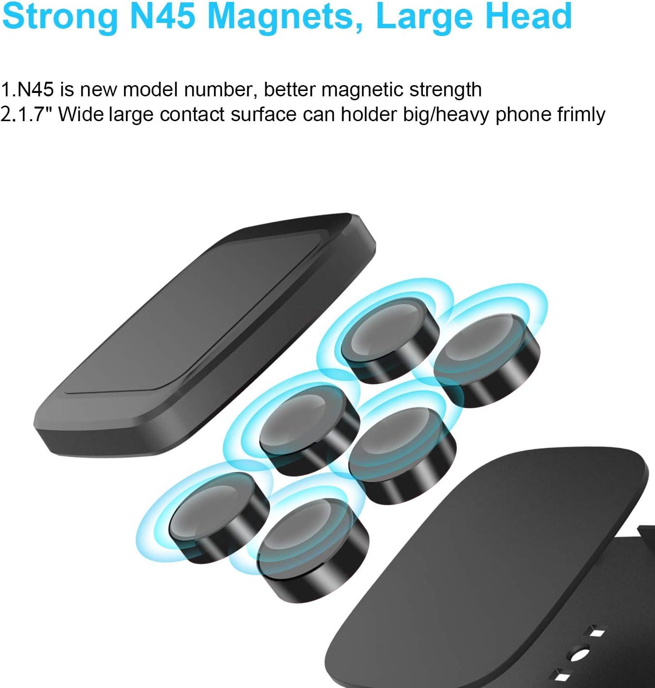 magnetic property of semi truck phone holder