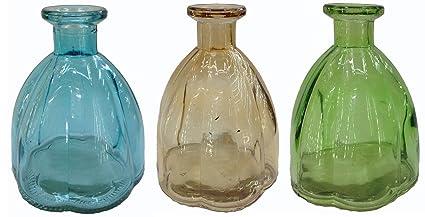Botiquín Decorar Botella Cristal 3 pieza corcho Cristal corcho vasos Botella Botella de Licor farmacia Cristal