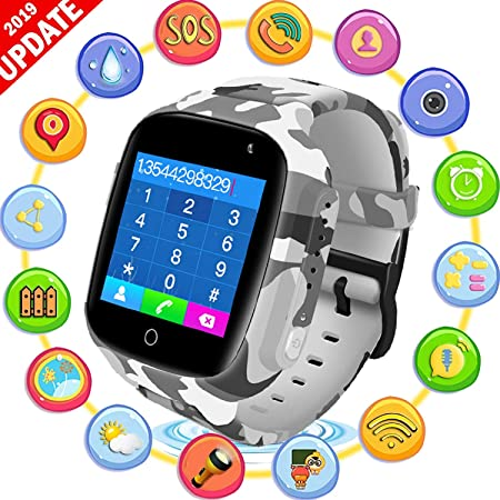 Smartwatch para niños Resistente al Agua, teléfono ...