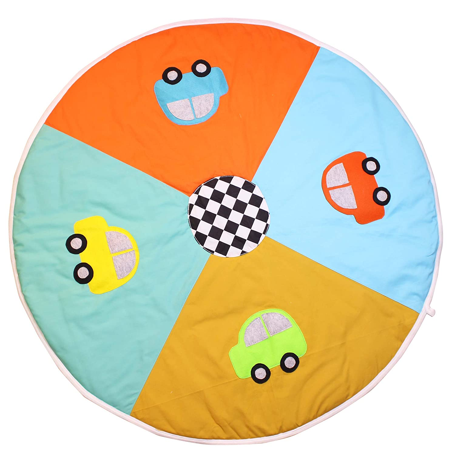 Kadambaby Playmat for Babies - Large Portable & Washable