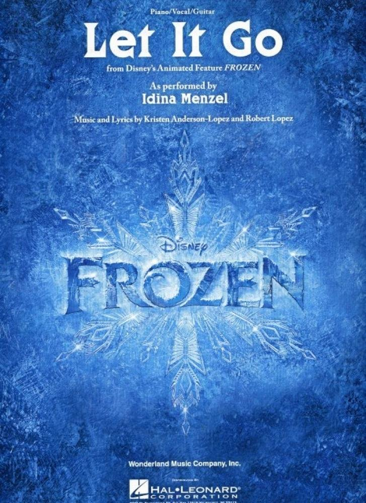 Let It Go Idina Menzel Version From The Disney Movie Frozen