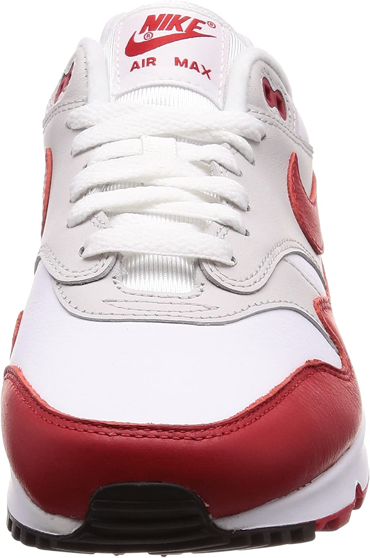 Nike Air Max 90//1 White//University Red AJ7695 100