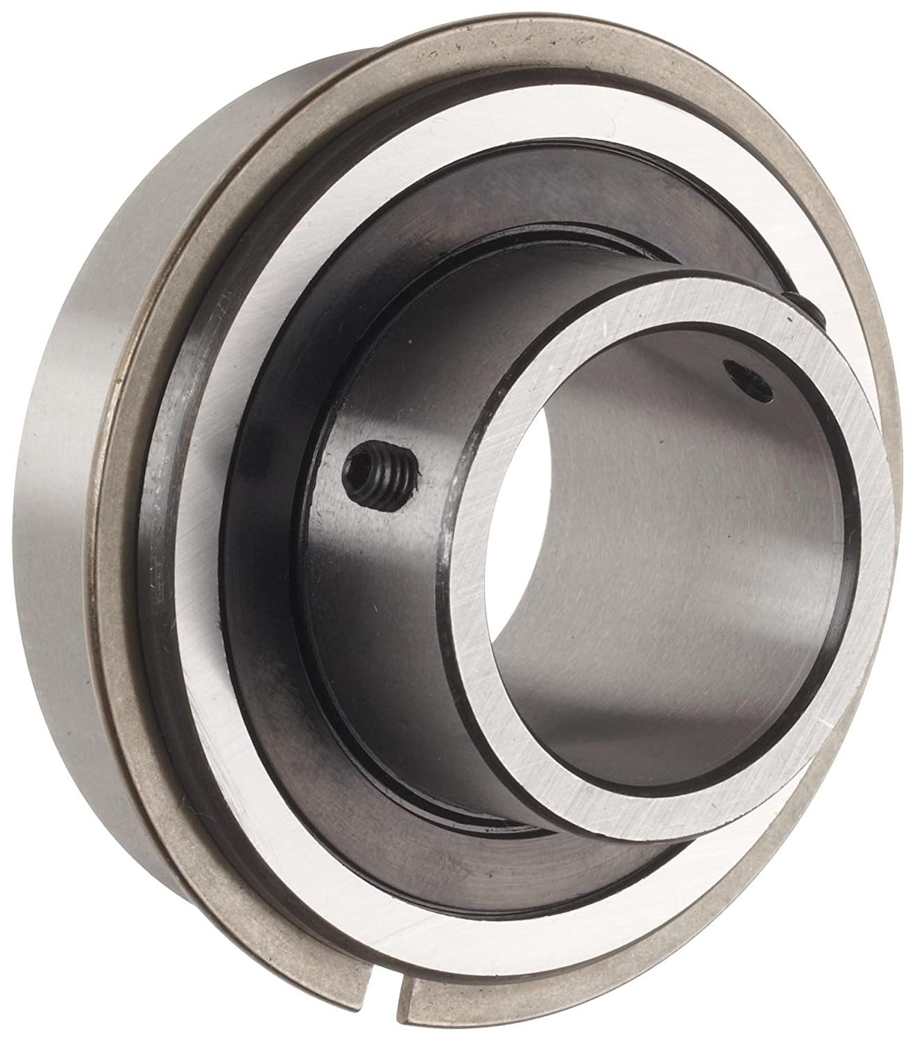 The General 7620 DL Extra Light Extended Inner Ring Bearing, Double Sealed, No Snap Ring, Inch, 1.25' Bore, 2.56' OD, 1.417' Width, 1831 lbs Static Load Capacity, 3070 lbs Dynamic Load Capacity 1.25 Bore 2.56 OD 1.417 Width