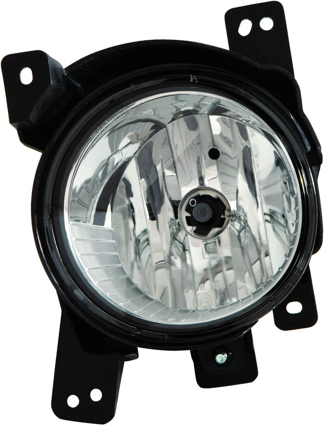 -Black LED Passenger side WITH install kit 2007 Hino 145 Post mount spotlight 6 inch