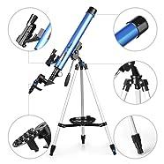 telescope astronomie Lunette TELMU F60050M