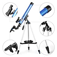 all astronomie Lunette TELMU F60050M