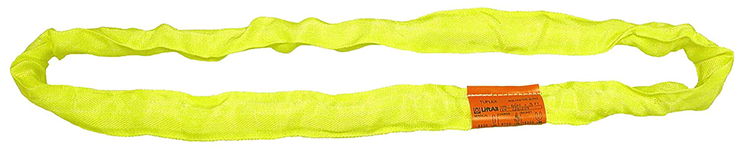 Liftall EN90X10 Tuflex Sling, Endless, 10', Yellow