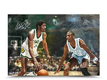 e4b402df2c4 Image Unavailable. Image not available for. Color  MICHAEL JORDAN   MAGIC  JOHNSON ...