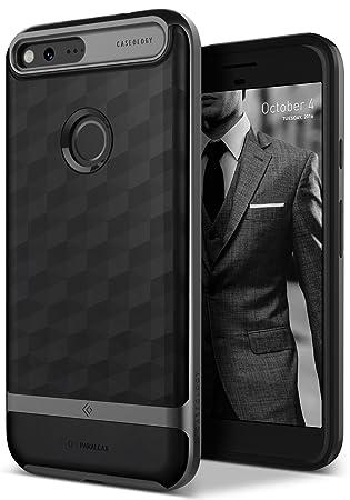 official photos 0cbed 12737 Caseology Parallax for Google Pixel XL Case (2016) - Award Winning Design -  Black