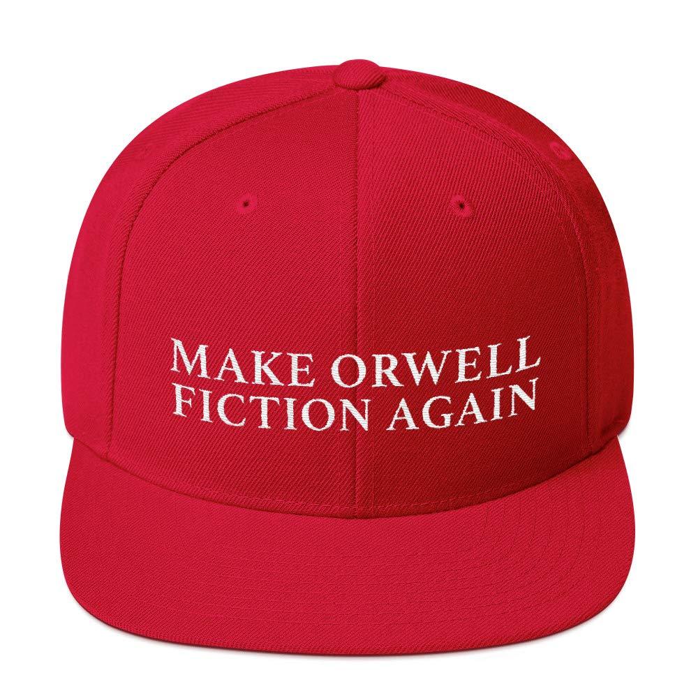 febf505804e Make Orwell Fiction Again. MAGA Parody Hats