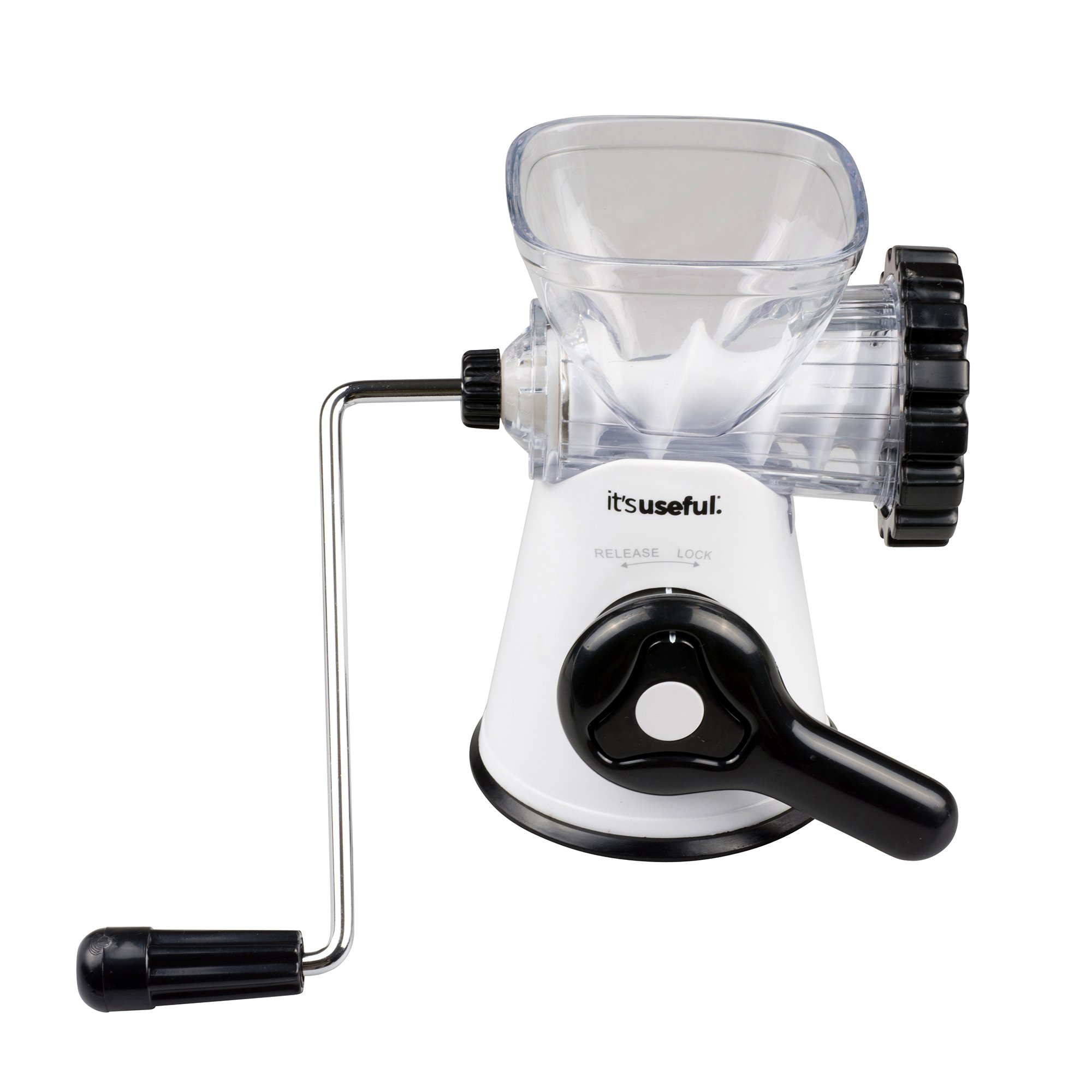 It's Useful Manual Meat Grinder in Stainless Steel