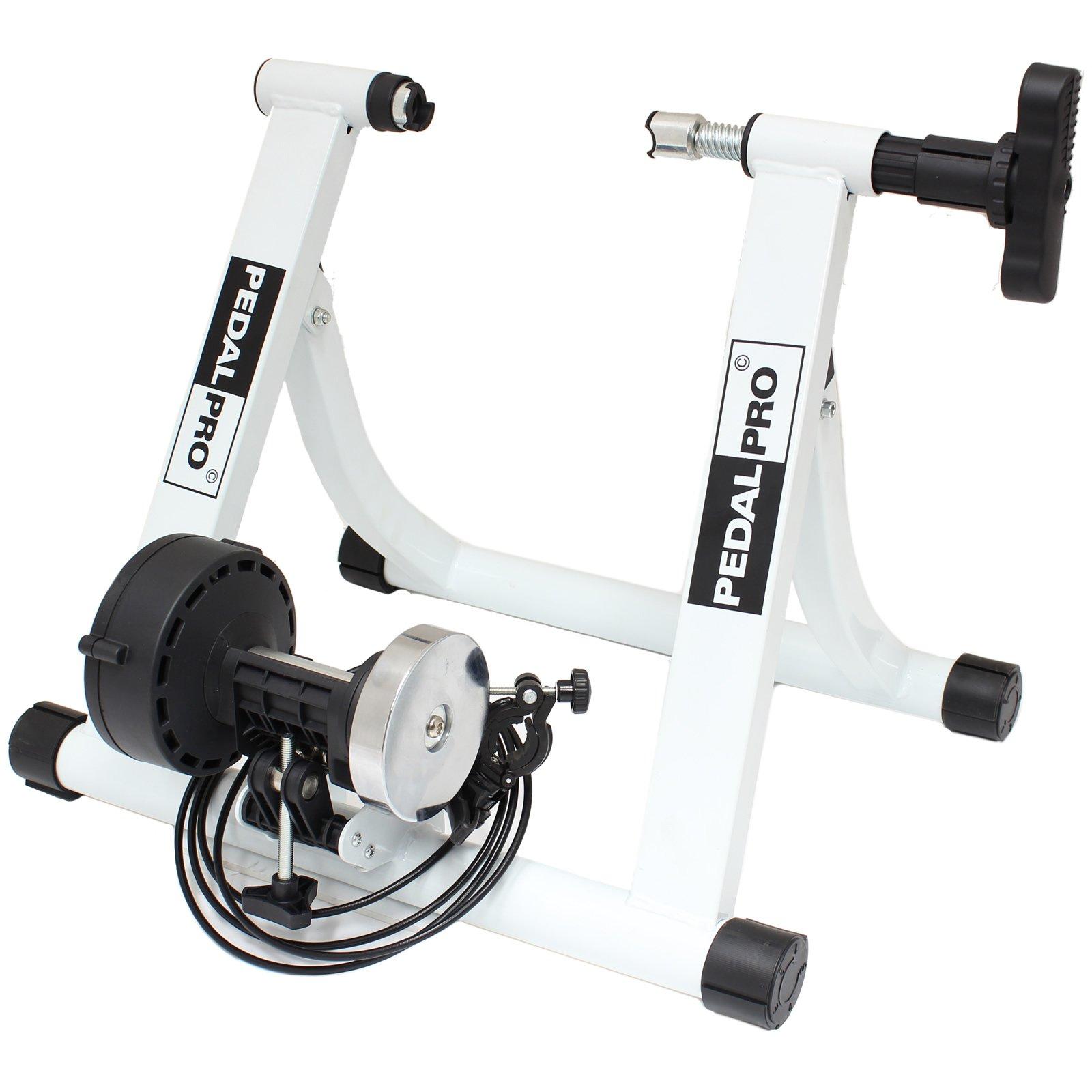 PedalPro MK II Entraineur Réglable Turbo Magnétique pour Vélo – Couleur Noir ou Blanc product image