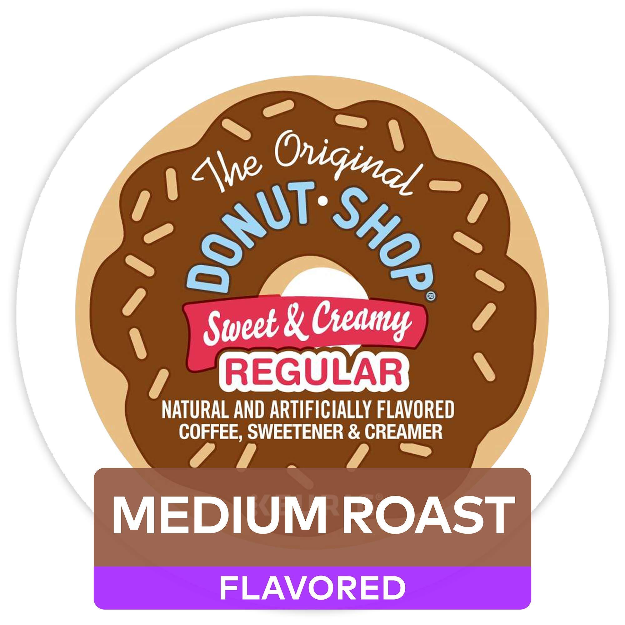 The Original Donut Shop Keurig Single-Serve K-Cup Pods, Medium Roast Coffee, 60 Count by The Original Donut Shop