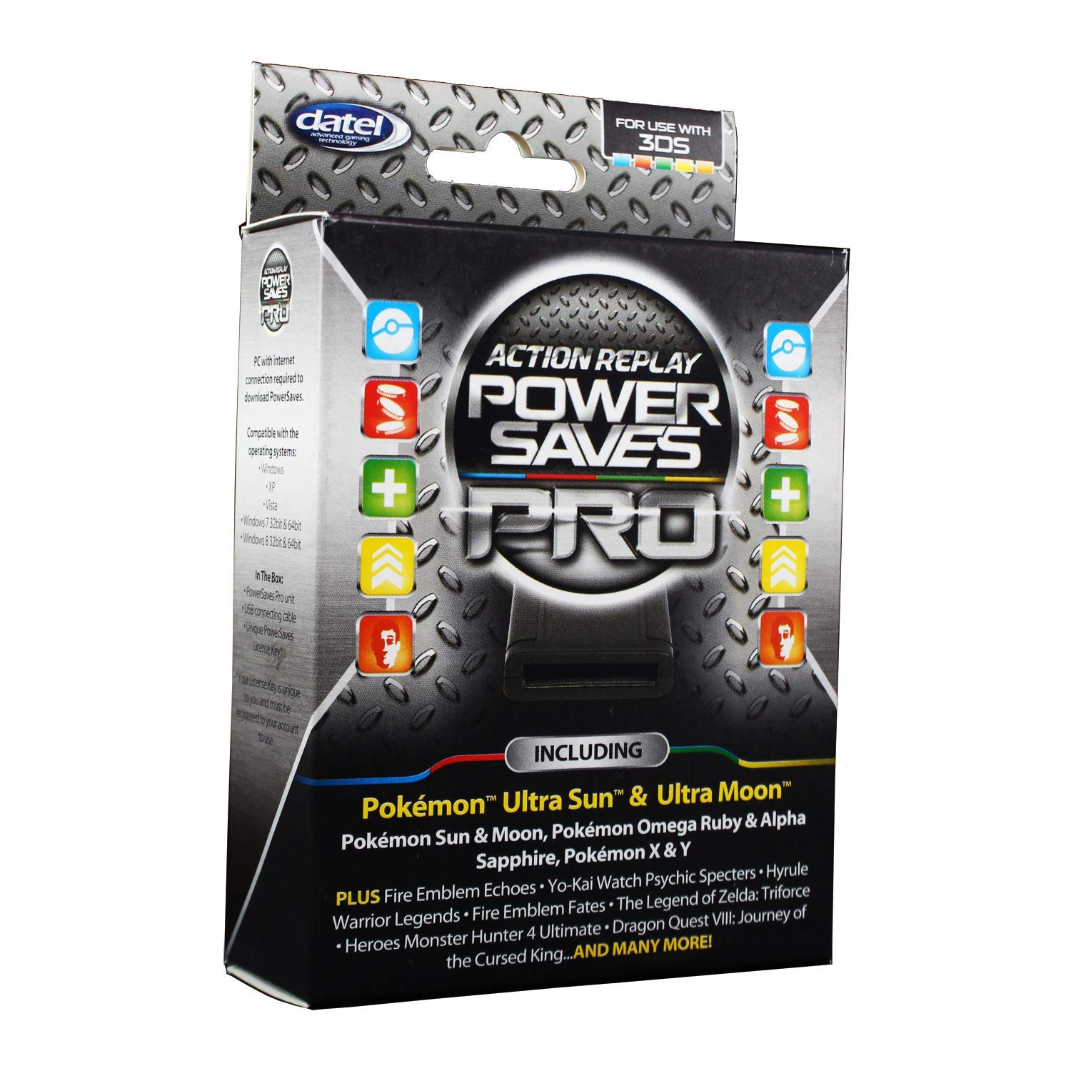 Datel Action Replay - Power Saves Pro for Nintendo 3DS