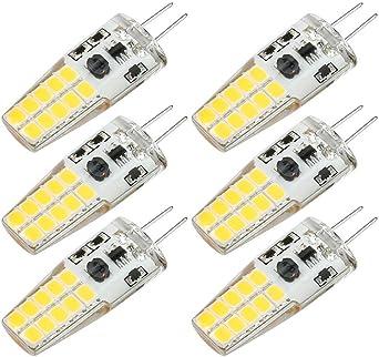 froid 8pcs LED G4 DC12V 3W Bulbe Lumière Remplacer Halogen Light Blanc chaud
