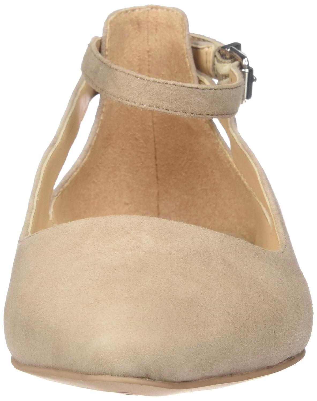 Franco Sarto Women's Sylvia Pointed B(M) Toe Flat B01L7W7V9M 6.5 B(M) Pointed US|Seppia e3ea6a