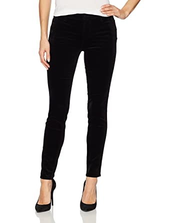 5af604eddeb Amazon.com: J Brand Jeans Women's Zion Mid Rise Skinny Velvet Pant in  Black: Clothing