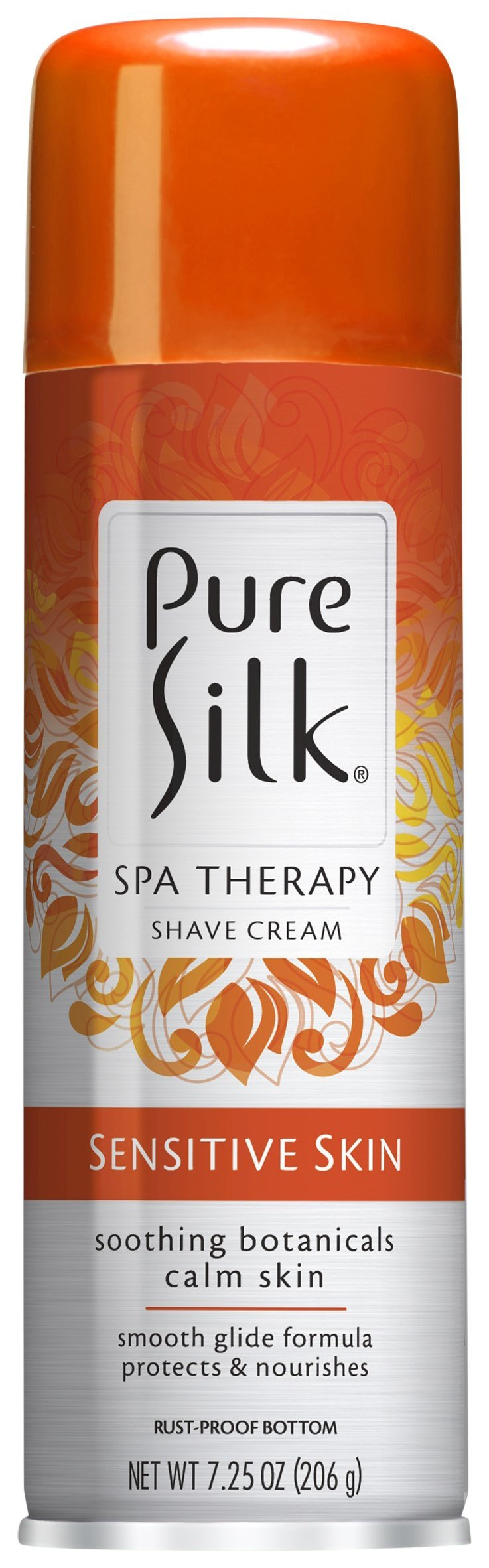 Pure Silk Sensitive Skin Spa Therapy Shaving Cream for Women (Travel Size, TSA-Approved), 2.85 ounces (Pack of 12)
