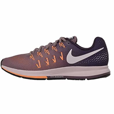 new concept 5b125 10e15 Amazon.com  Nike Air Zoom Pegasus 33 Purple Smoke Purple Dynasty Peach  Cream White Women s Running Shoes  Shoes