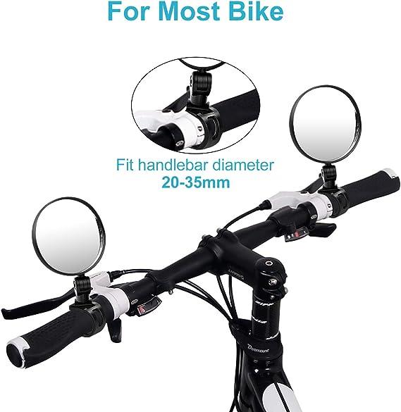 Mini retroviseur VTT Velo reglable Miroir de cyclisme Retroviseur de Guido B4 1X
