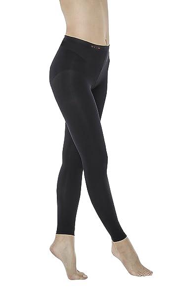 Vivaleg Leg Slimmer Leggings Pantyhose Black M
