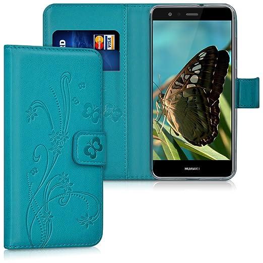 13 opinioni per kwmobile Custodia portafoglio per Huawei P10 Lite- Cover a libro in simil pelle