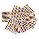 Magideal 10x Children Multicolor Mini Removable Teacher Reward Stickers Love Heart