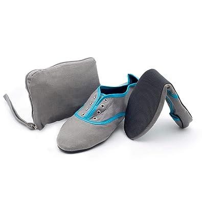 b1276f17d5 CatMotion Faltbare Bequeme Schuhe in Ihre Handtasche, Ballerinas für ...