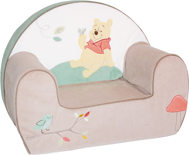 35 cm Sill/ón Minnie club rosa Babycalin Disney