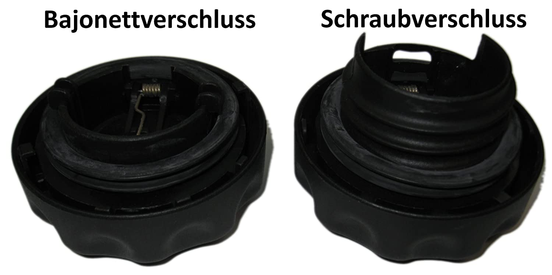 RediCAP Benzin Schwarz Tankdeckel Tanken wie in der DTM Formel 1 Schraubverschluss