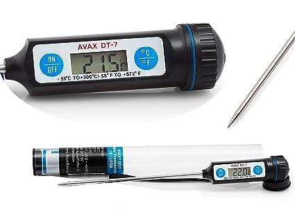 AVAX DT-7 - termómetro de cocina Digital LCD de la sonda para la carne