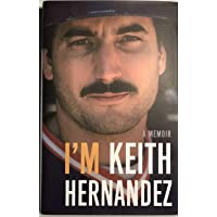 Keith Hernandez Autographed Signed New York Mets I M Keith Hernandez Book With JSA COA