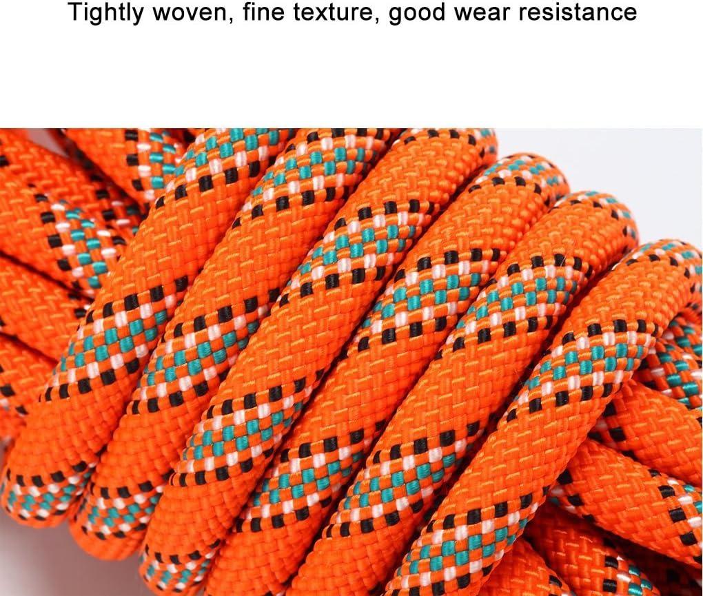 OXYVAN 10 mm Climbing Rope Orange 98ft
