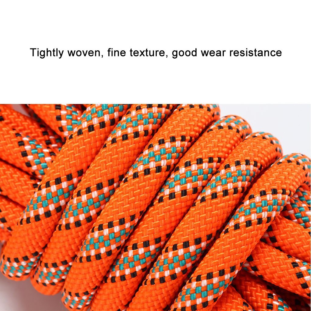 20M Rock Climbing Rope Escape Rope Climbing Equipment Fire Rescue Parachute Rope HandAcc Outdoor Climbing Rope 10M 98ft 70M 229ft 50M Diameter 10mm 60M 66ft 30M 164ft 33ft 197ft