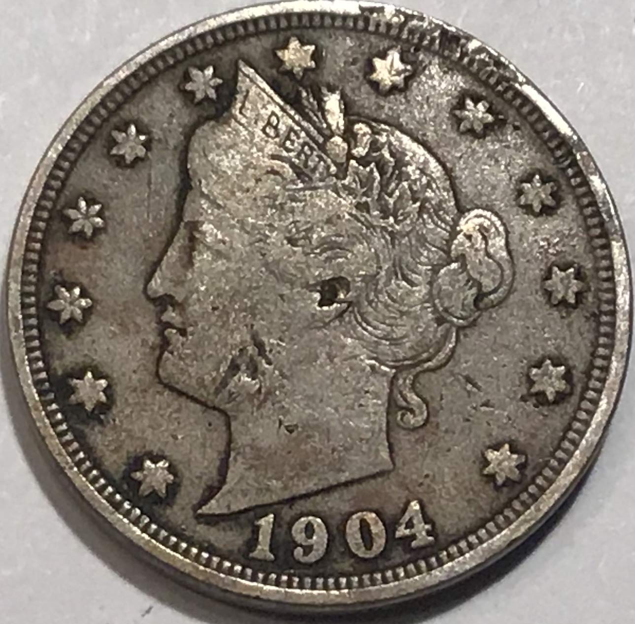 1904 Liberty V Nickel Fine At Amazon S Collectible Coins Store