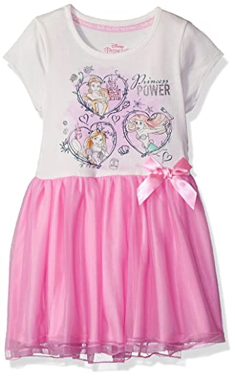 78b3bce5d5e6 Amazon.com  Disney Girls  Toddler Princess Power Graphic-Print Tutu ...