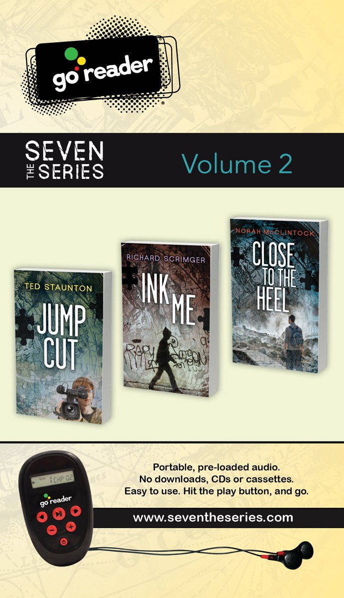Seven (the Series) GoReader Volume 2: Jump Cut, Ink Me, Close to the Heel MP3 CD – Audiobook, MP3 Audio