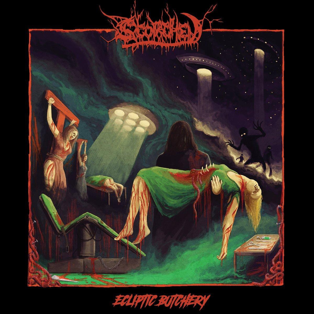Vinilo : SCORCHED - Ecliptic Butchery (LP Vinyl)