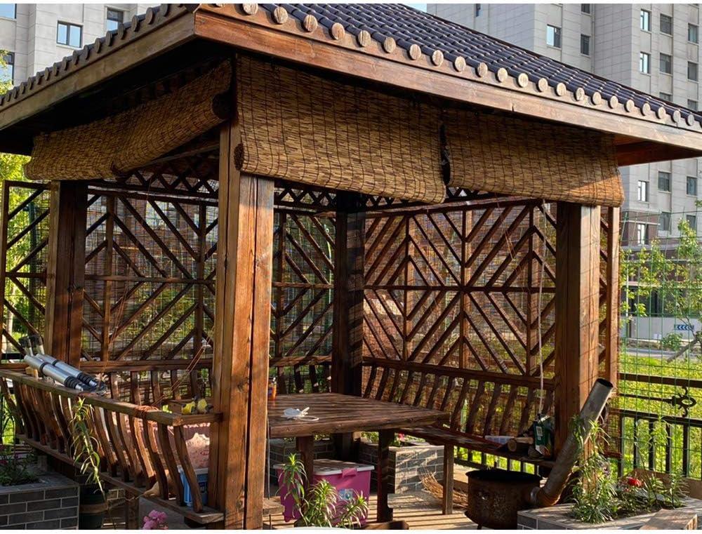 XYL Persianas enrollables de bambú para Patio Estores de Bambú - Cortinas, Sombrilla/Aislamiento térmico, Cortina de Paja Transpirable para Exterior/Interior, Personalizable: Amazon.es: Hogar