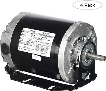 [DIAGRAM_09CH]  Century formerly AO Smith GF2054 1/2 hp, 1725 RPM, 115 volts, 48/56 Frame,  ODP, Sleeve Bearing Belt Drive Blower Motor (Fоur Расk) - - Amazon.com | 115 Volt Ac Motor Wiring |  | Amazon.com