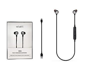 M2 TEC Auriculares Deportivos Fitness Bluetooth V4.2+EDR ...