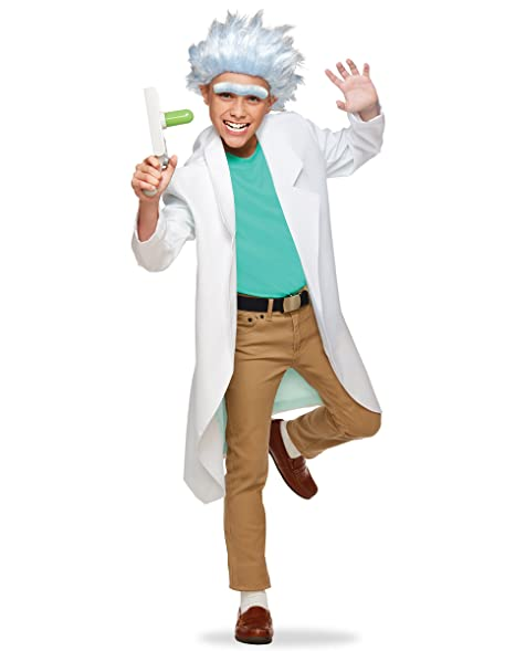 spirit halloween teen rick costume rick and morty