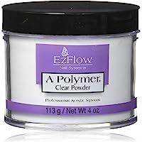EzFlow Acrylic Polymer Clear Powder 4 oz, Pack of 1