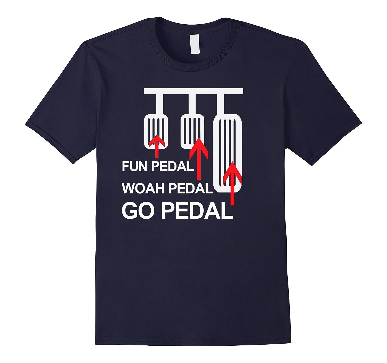 Funny Manual Transmission Shirt Man Pedal Funny Car Shirts-BN