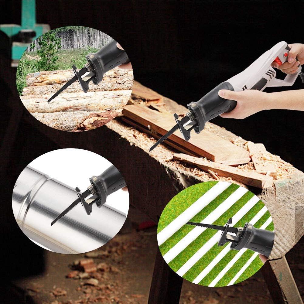 Fditt Tron/çonneuse /électrique Multifonction /à Main pour scie Sabre en Acier Inoxydable 220 V